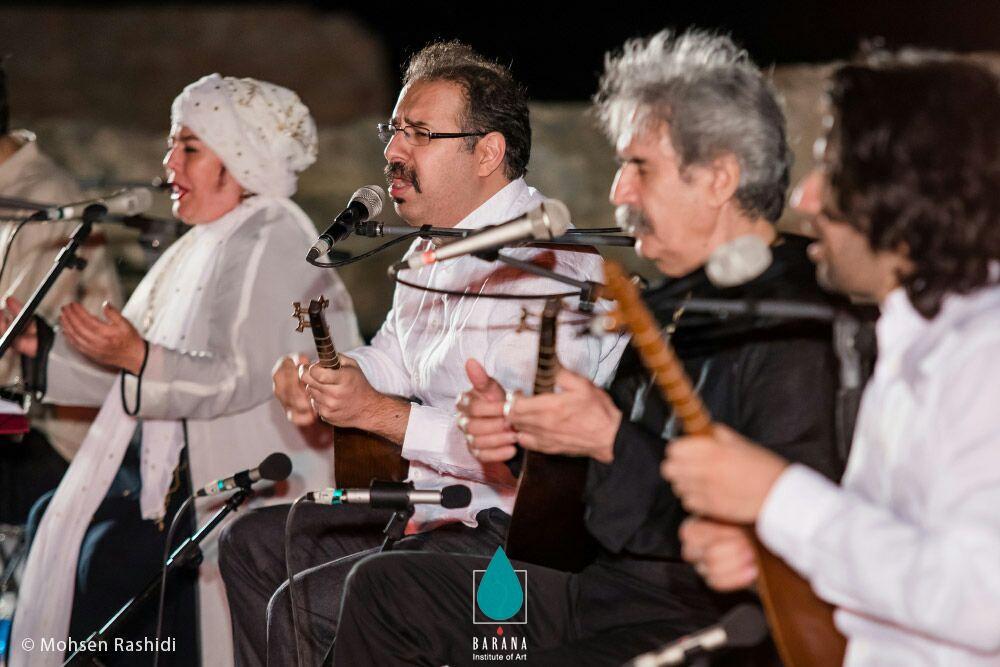 کنسرت گروه شمس در بیستون کرمانشاه