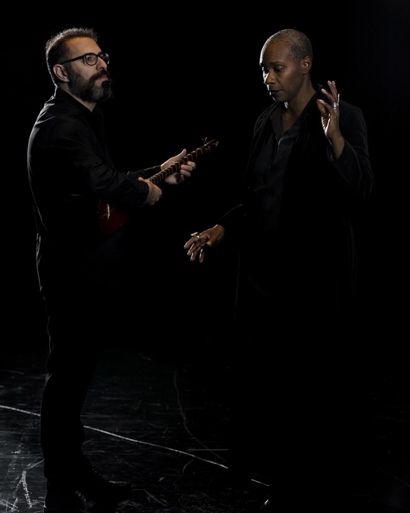 Tahmoures Pournazeri & Josette Bushell Mingo
