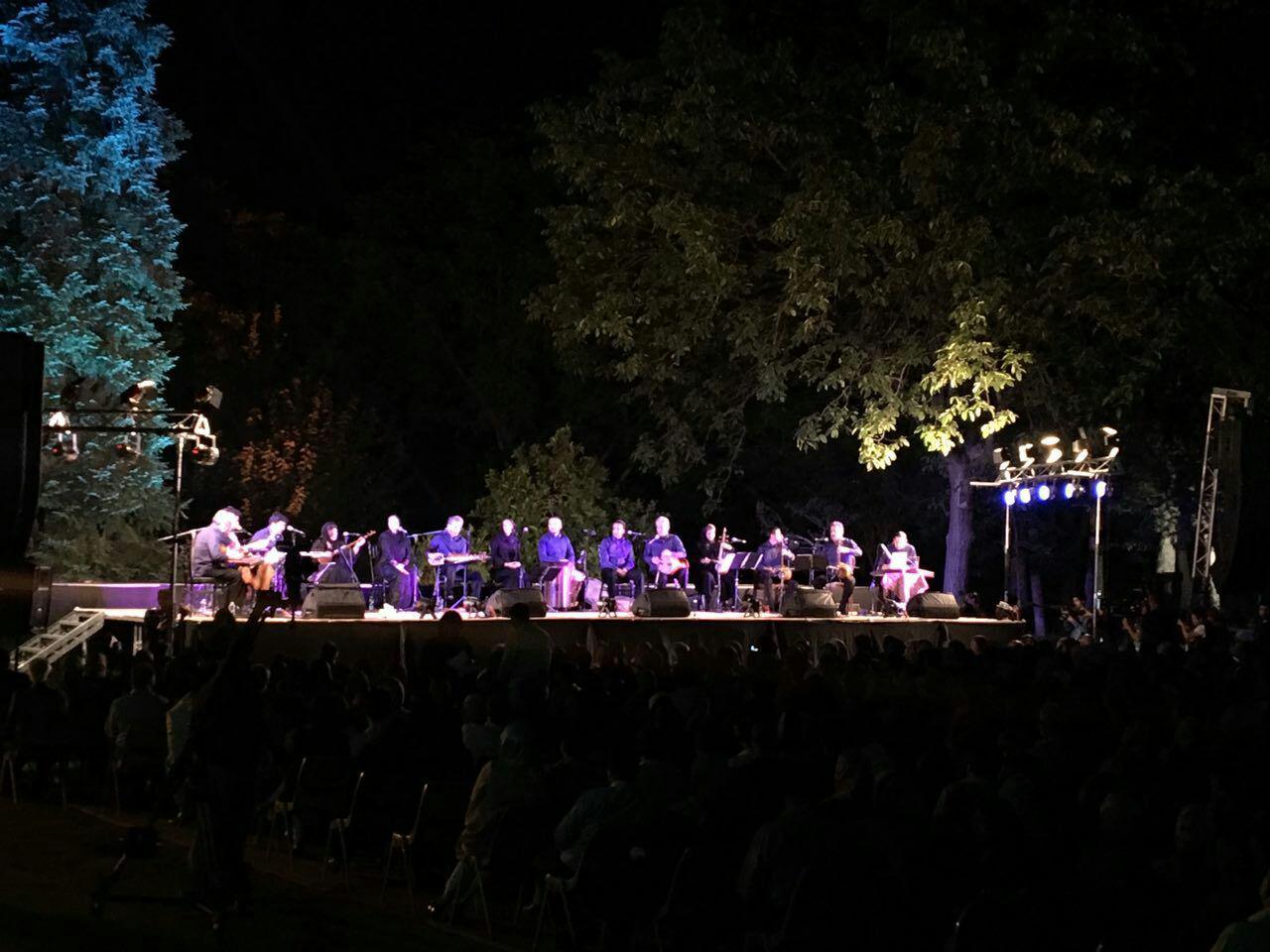 کنسرت کامکارها در فستیوال بارانا